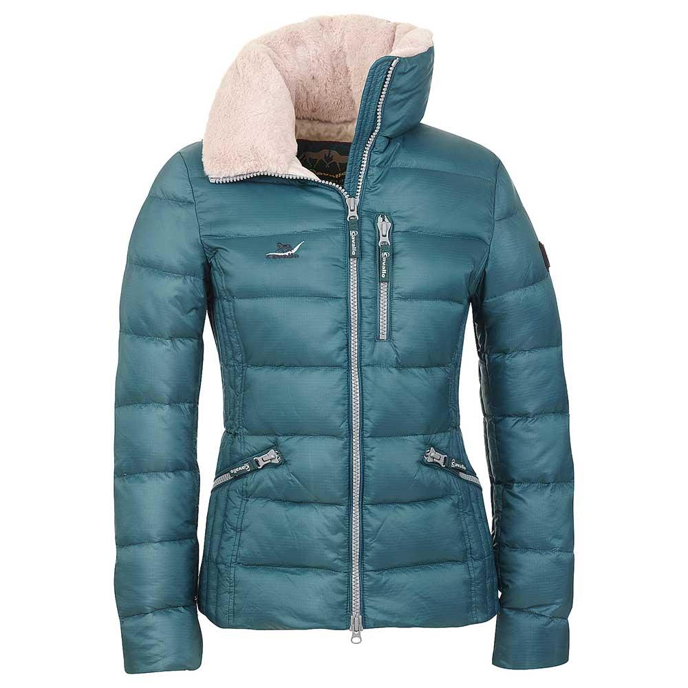 Cavallo Adria Ladies Down Filled Jacket - Aquamarine/Ivory ...