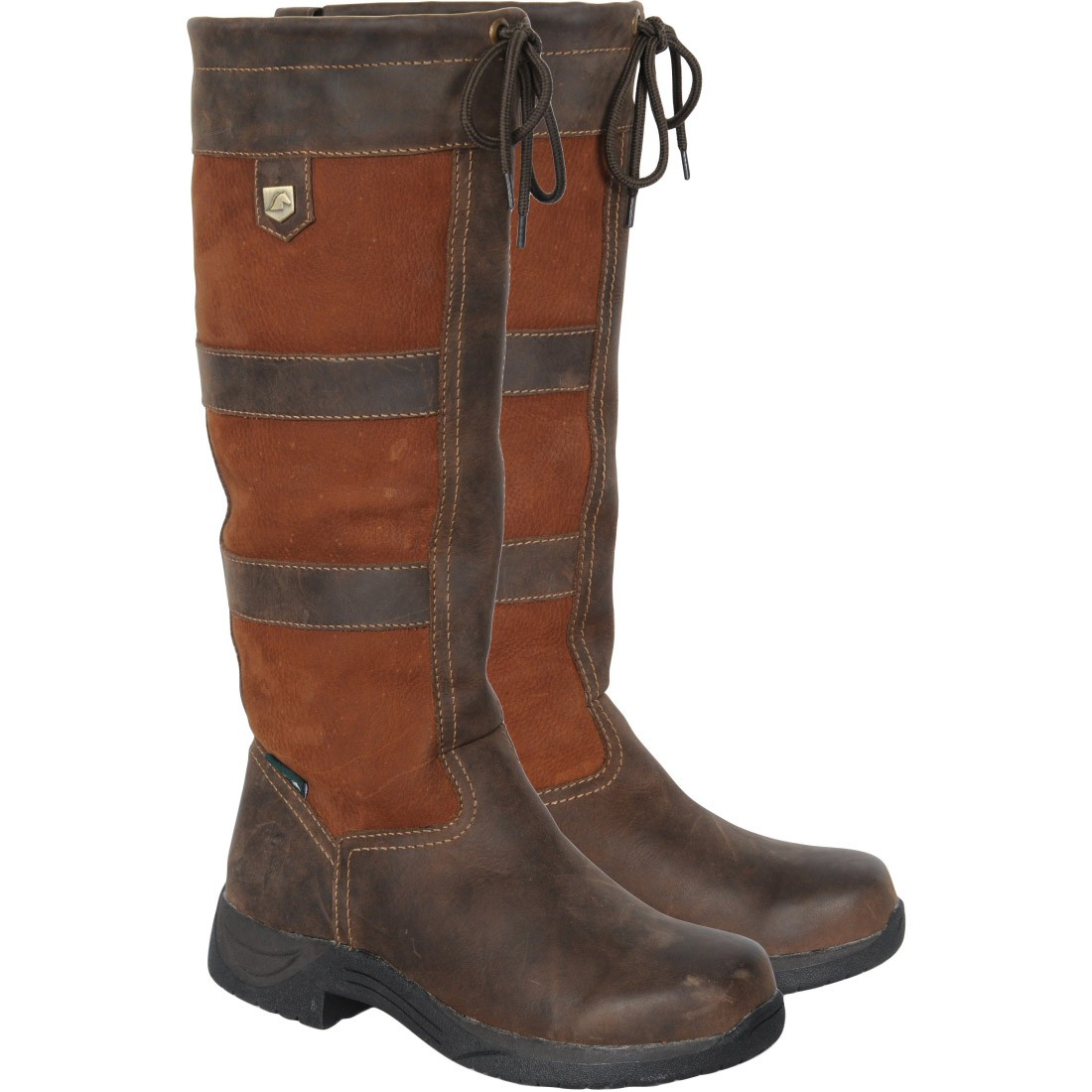 dublin river boots brown redpost equestrian