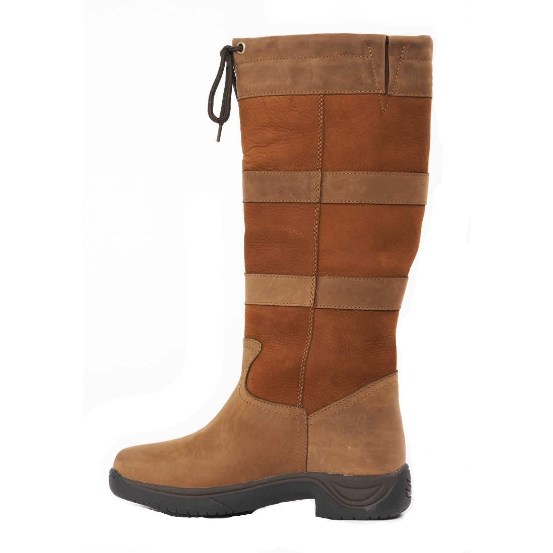 Dublin River Boot Tall Waterproof Boots Dark Brown