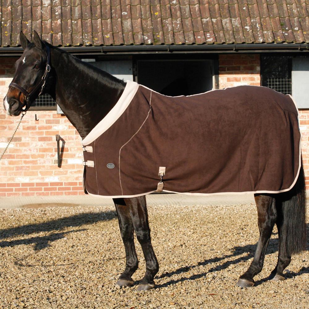 Delightful Mark Todd Deluxe Fleece Rug   Brown/Beige   Redpost Equestrian