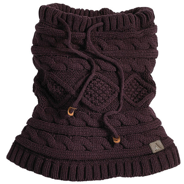 Snood Dog Knitting Pattern Wool And The Gang : Musto Gower Cable Knit Snood - Bordeaux - Redpost Equestrian