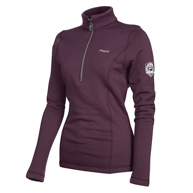 48897910b Pikeur Ramita Ladies Polartec Powerstretch Shirt - Blackberry