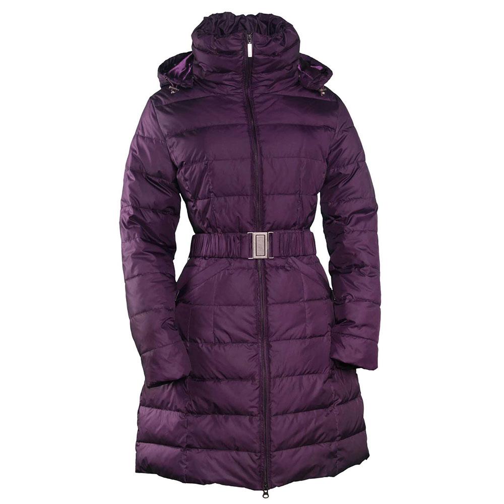 Toggi Arlington Ladies Long Down Coat - Royal Purple - Redpost ...