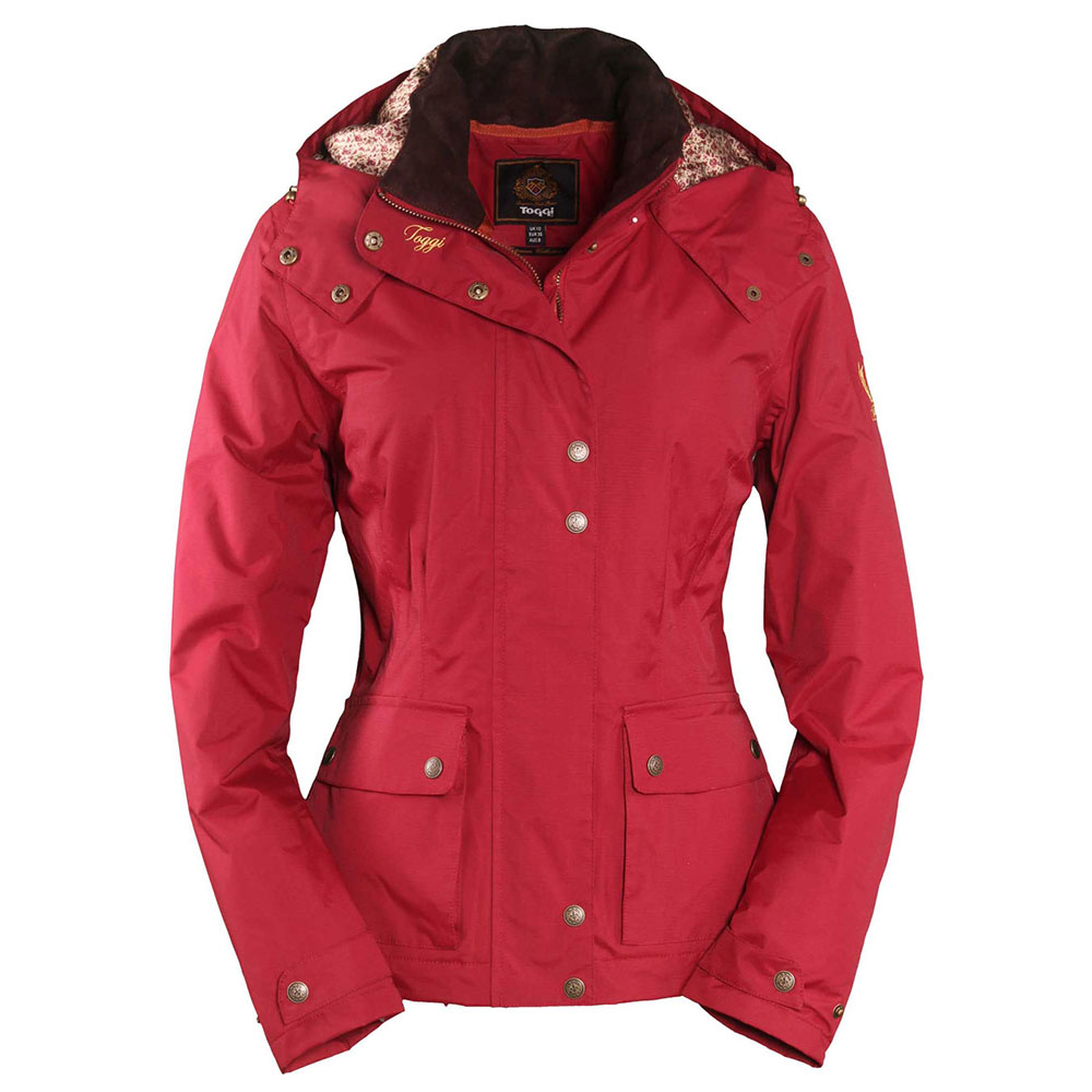 Toggi Lasalle Ladies Waterproof Jacket - Redcurrant - Redpost