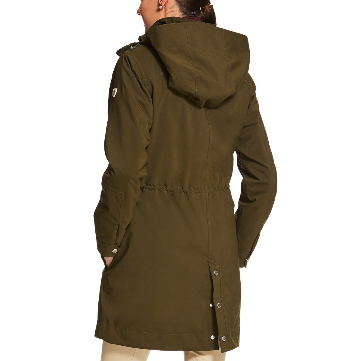 Ariat Commuter H2O Ladies Parka Jacket - Brine Olive - Redpost ...