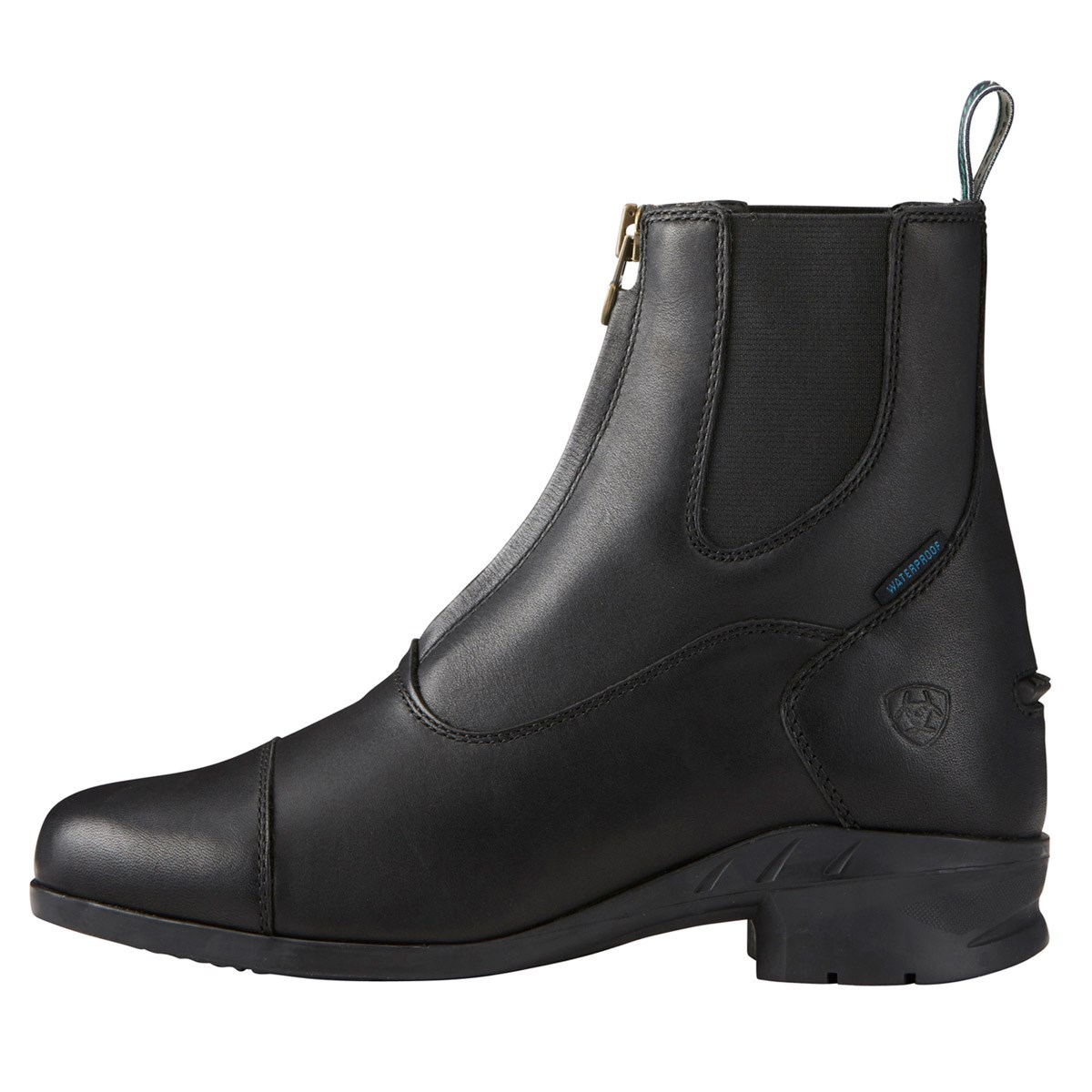 e01264aae160 Ariat Heritage IV Zip H2O Womens Paddock Boot - Black - Redpost ...