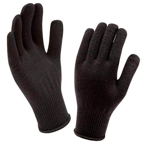 1346f75218329 Sealskinz Sea Leopard Lux Waterproof Ladies Gloves - Black Grey ...