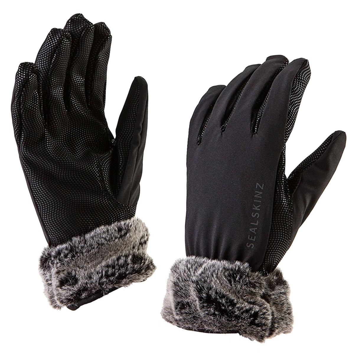 86f2c4316fddf Sealskinz Sea Leopard Lux Waterproof Ladies Gloves - Black Grey - Redpost  Equestrian