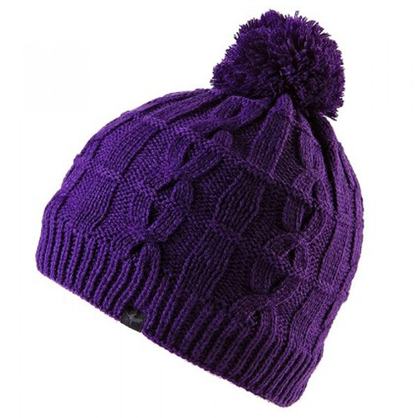 Sealskinz Cable Knit Waterproof Bobble Hat - Purple - Redpost Equestrian 38d81ae6136