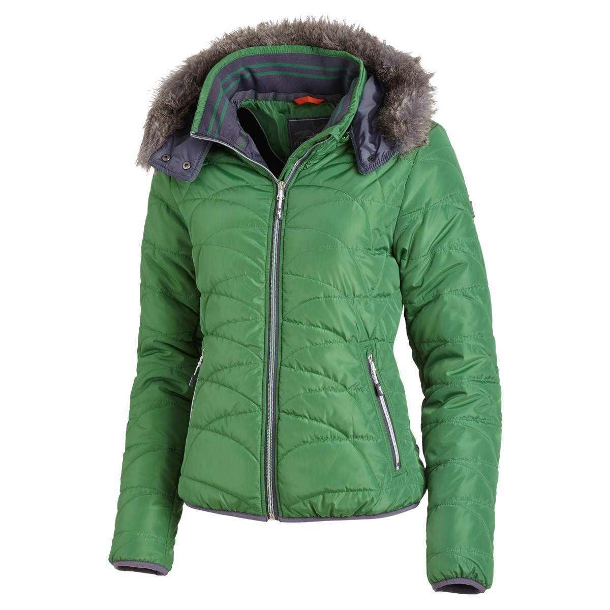 Schockemohle Sports Valerie Style Ladies Jacket - Mossy Green - Redpost  Equestrian 173584254a14