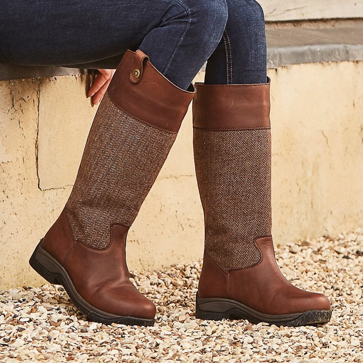 3b94fa551e6 Dublin Eden Country Boots - Drifted Brown
