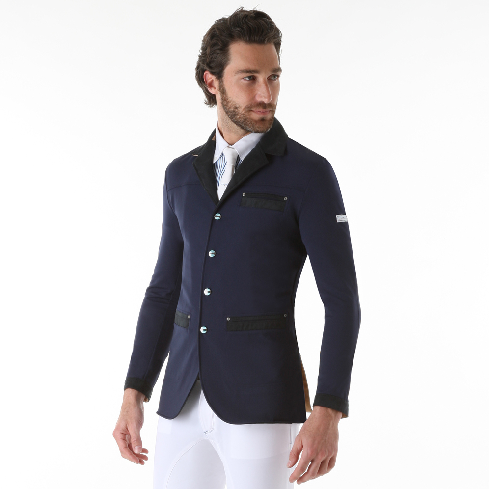 animo inpiu mens competition jacket navy redpost