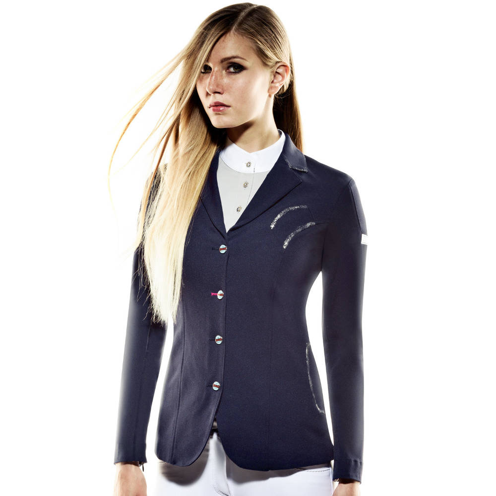 Animo Liang Silver Ladies Competition Jacket Graglia