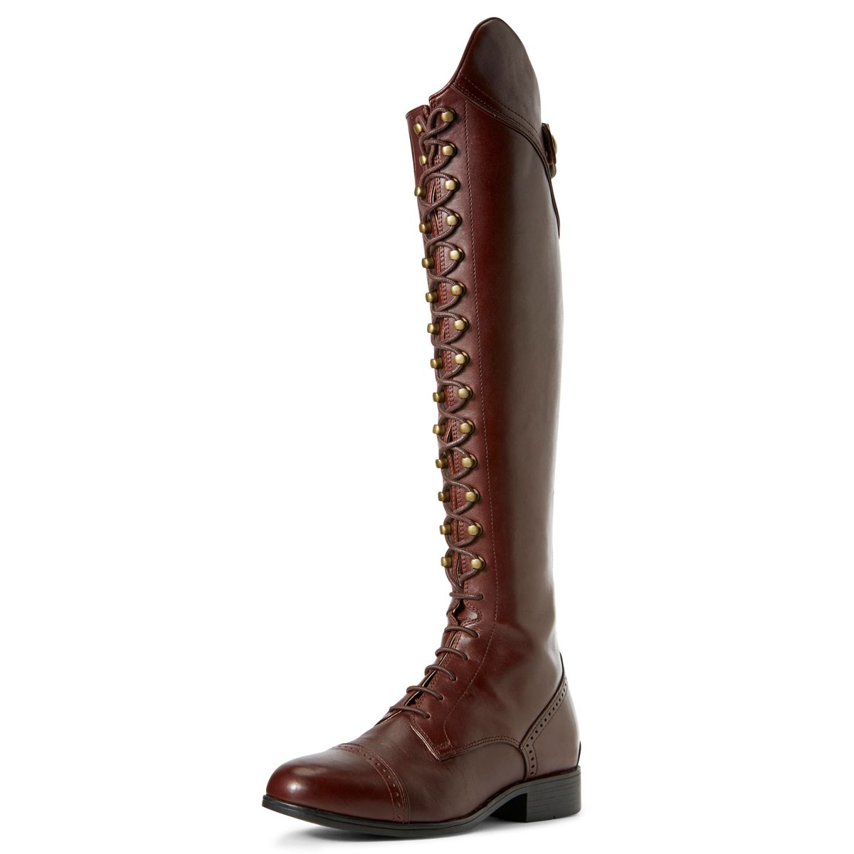 best choice famous brand superior quality Ariat Capriole Ladies Tall Riding Boots - Mahogany
