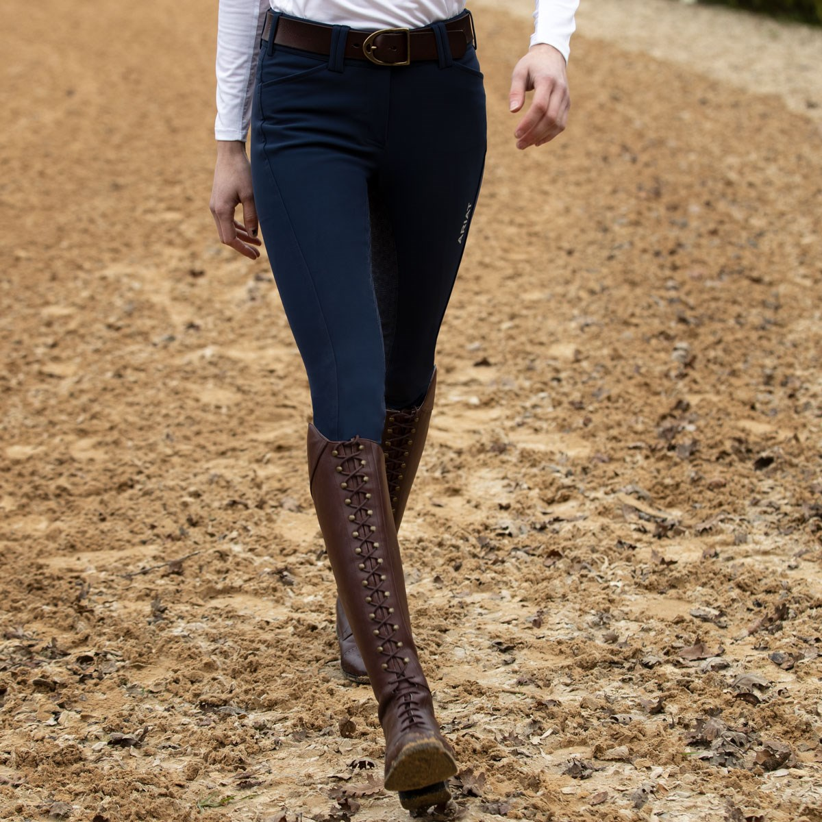 3a840170b85 Ariat Capriole Ladies Tall Riding Boots - Mahogany