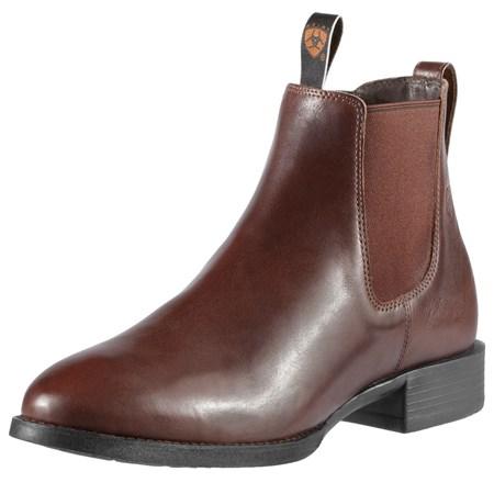 ariat acton mens jodhpur boot brown redpost equestrian