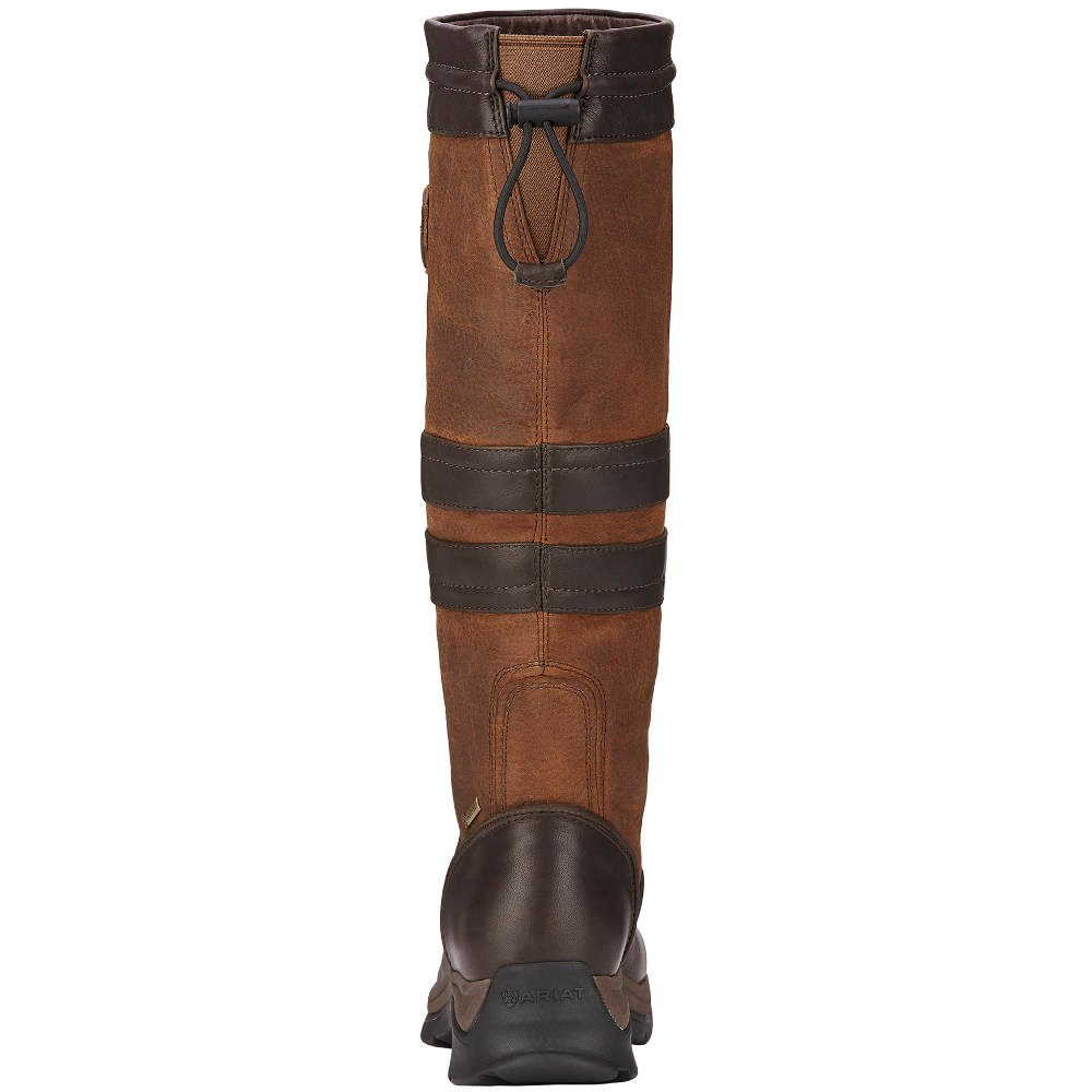 Ariat Braemar GTX Ladies Country Boots - Ebony Brown - Redpost ...
