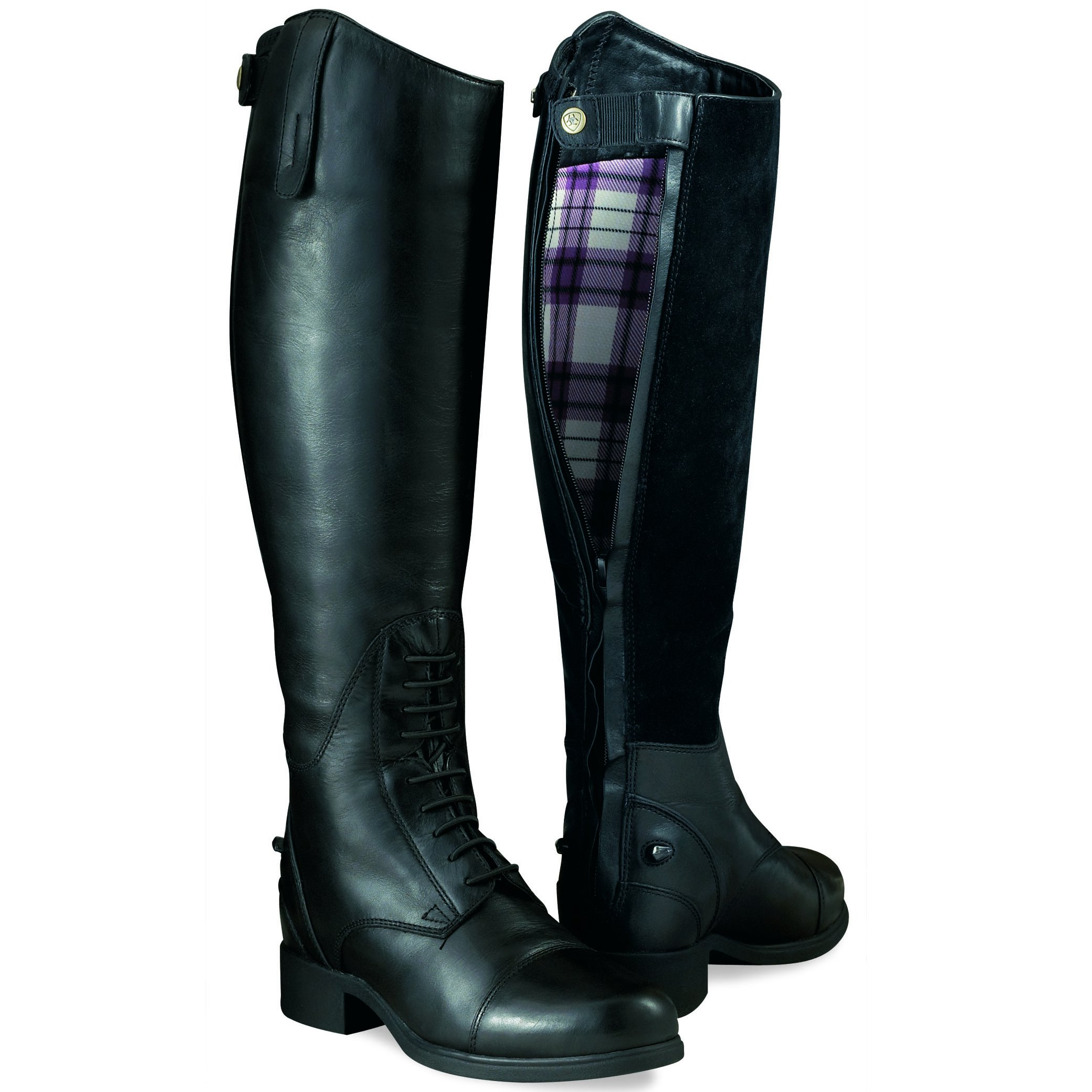 Ariat Bromont Tall H2O Insulated Womens Boots - Black - Redpost ...