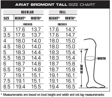 Ariat Bromont Tall H2O Dress Womens Boot - Waxed Black - Redpost ...