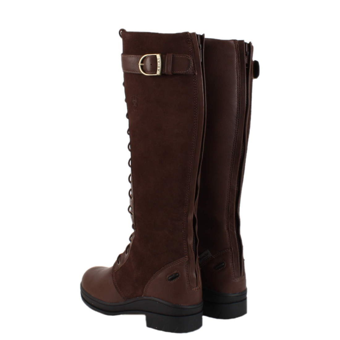 Ariat Coniston Long Country Boot - Chocolate/Brown - Redpost ...