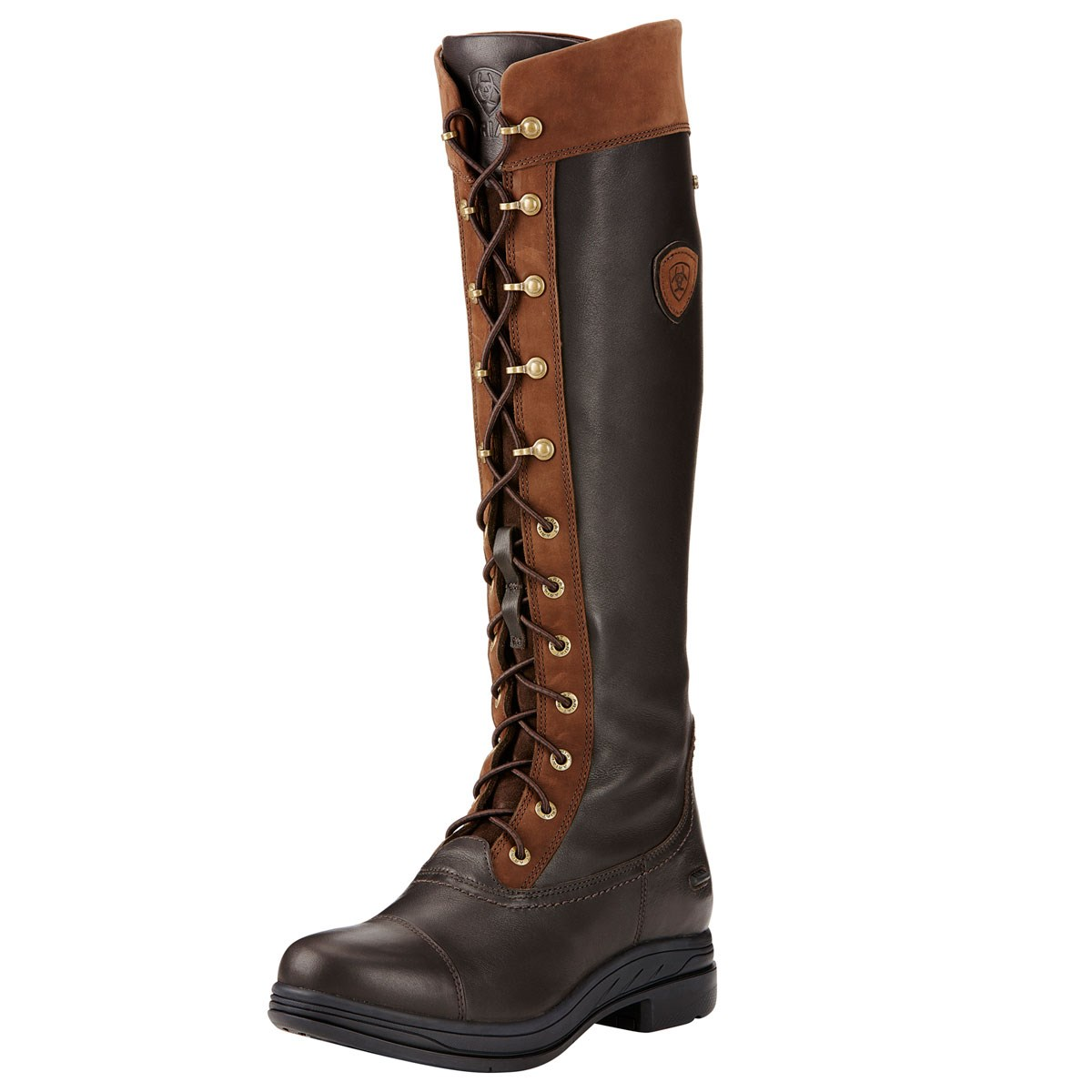 Ariat Coniston Pro GTX Insulated Womens Tall Country Boot - Ebony ...