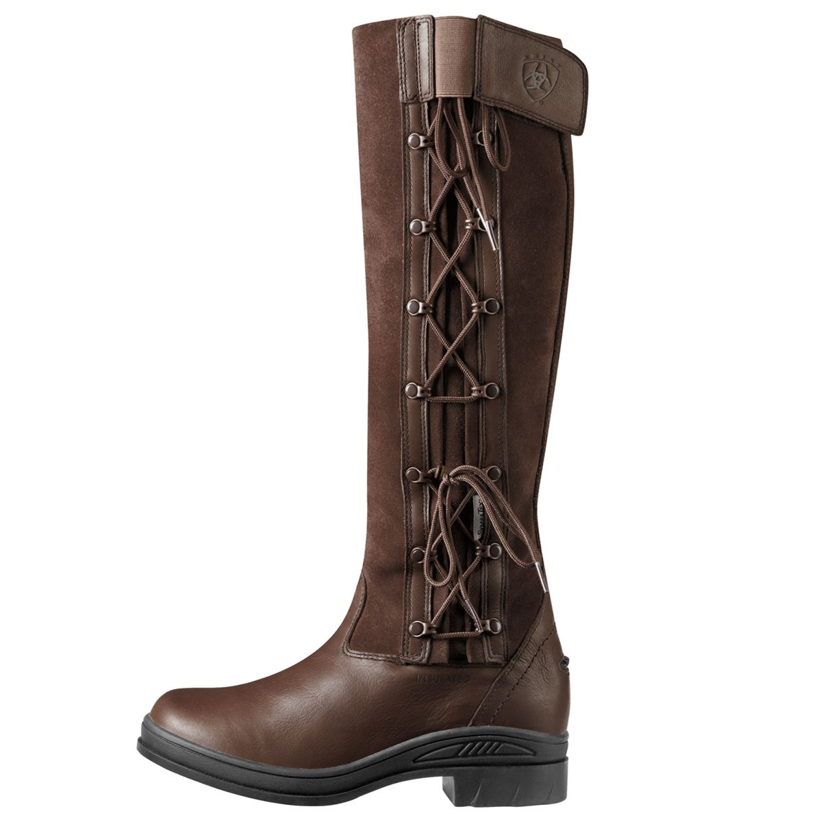 Ariat Grasmere Tall Womens Boot - Chocolate - Redpost Equestrian