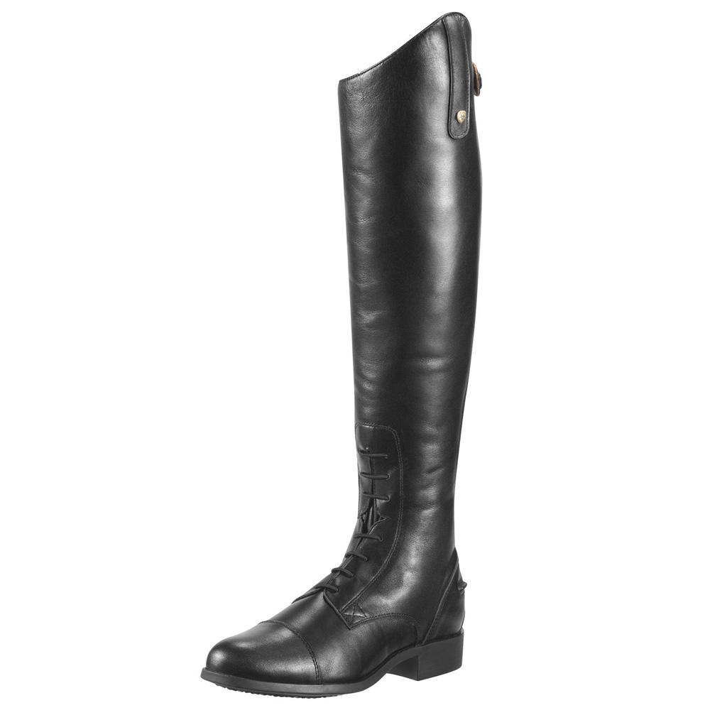 Ariat Heritage Contour Field Zip Tall Boot Black