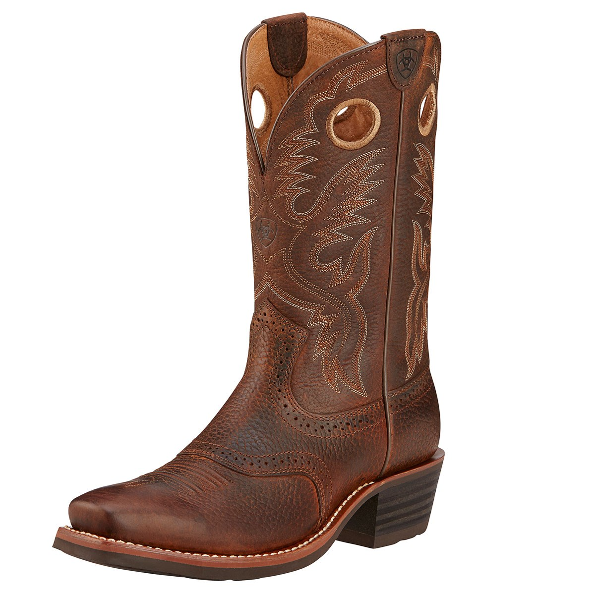 74e8ab963b8 Ariat Heritage Roughstock Mens Western Boot - Brown Oiled Rowdy