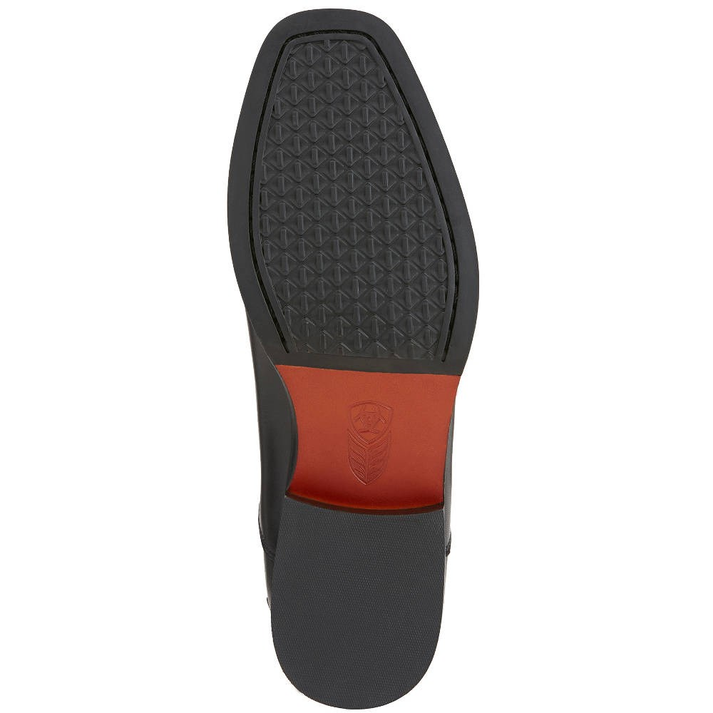 dedbd565d18c1 Ariat Monaco Ladies Tall Stretch Zip Boots - Black/Black Patent ...