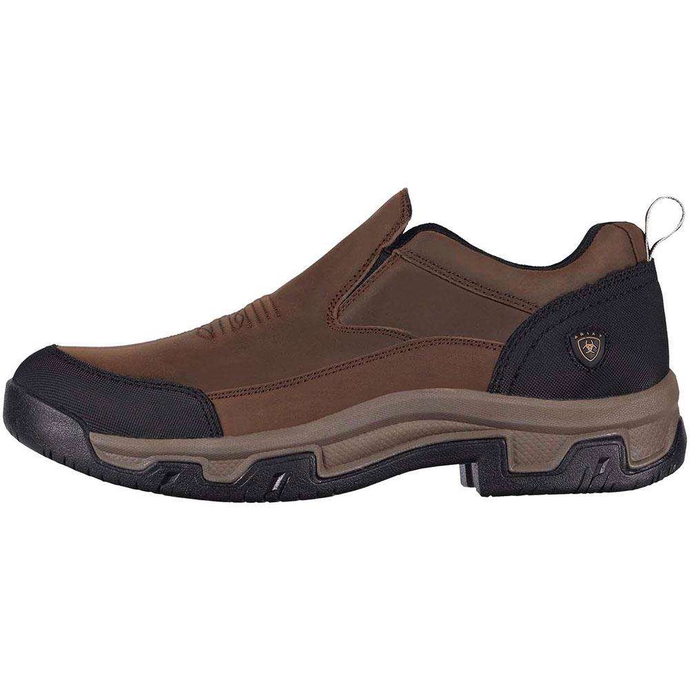 Ariat Rockwood Slip On Mens Boot Distressed Brown