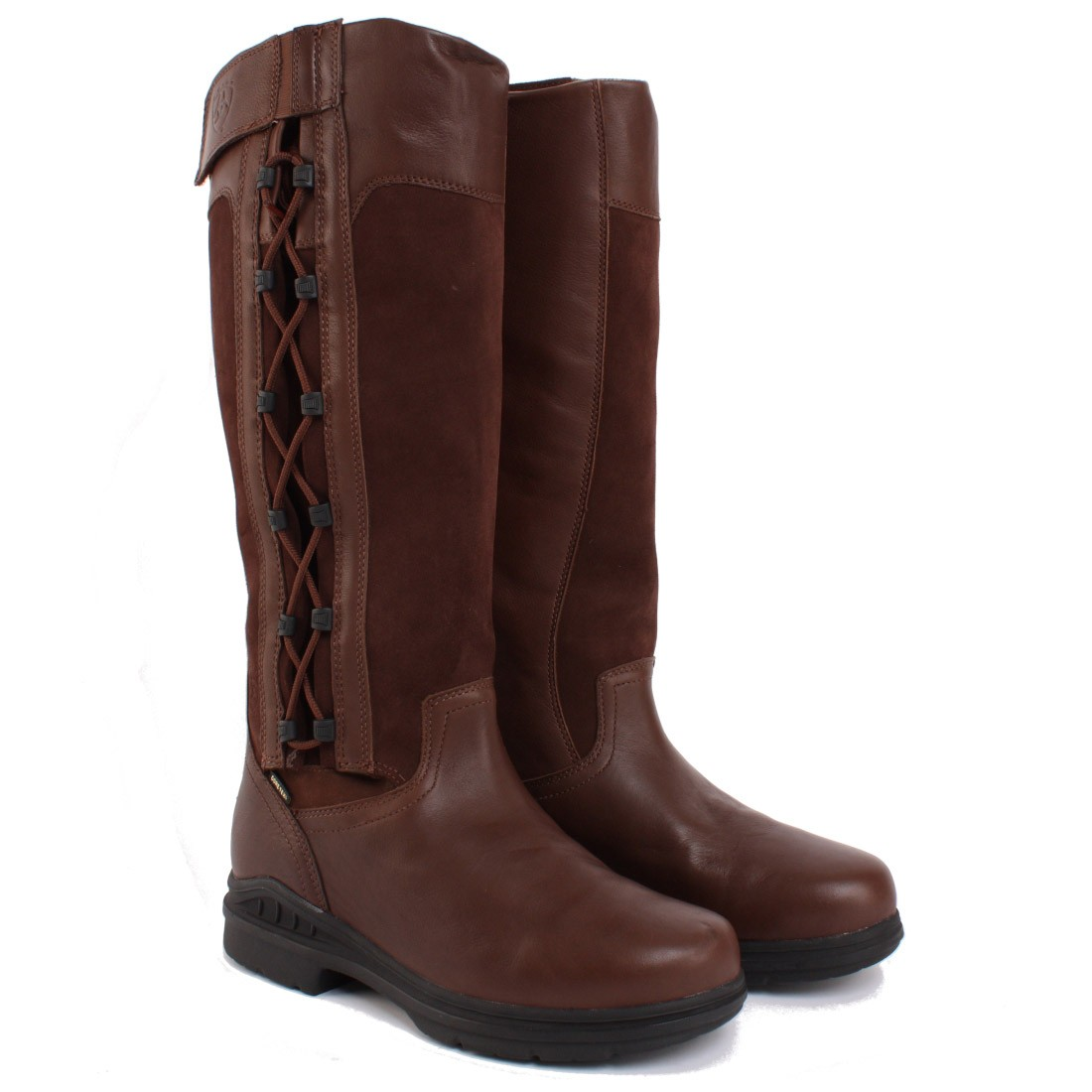 Ariat Rydal Mens Tall Country Boots Chocolate Redpost