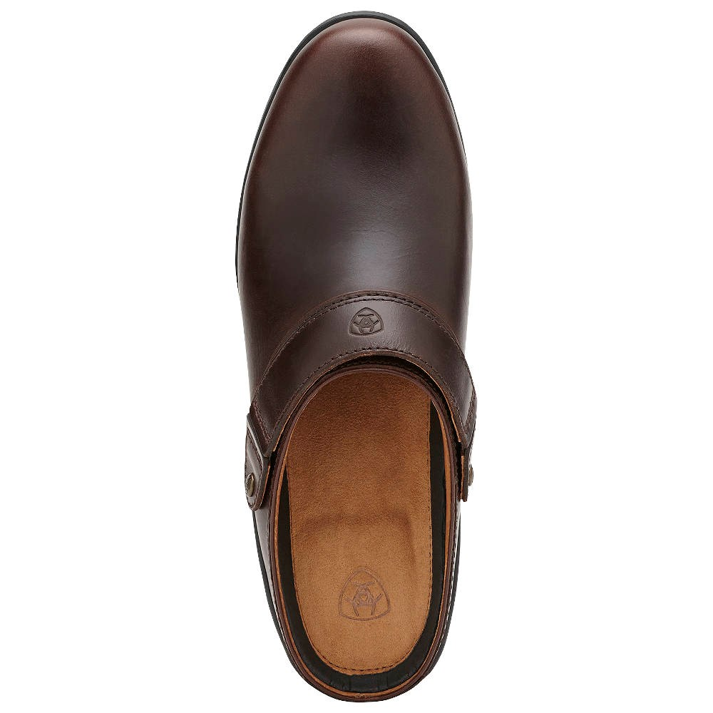 a221a7946c4 Ariat Sport Mule Womens Slip-On - Waxed Chocolate - Redpost Equestrian