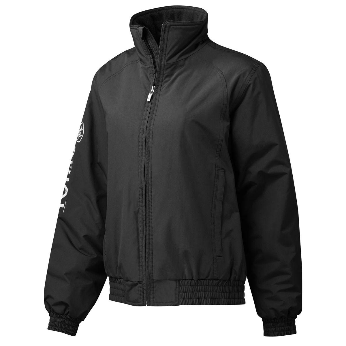 Ariat Ladies Waterproof Stable Team Blouson Jacket - Black