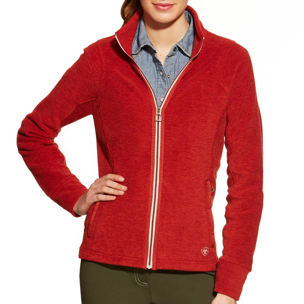 Ariat Zenith Ladies Jacket - Brick Red - Redpost Equestrian
