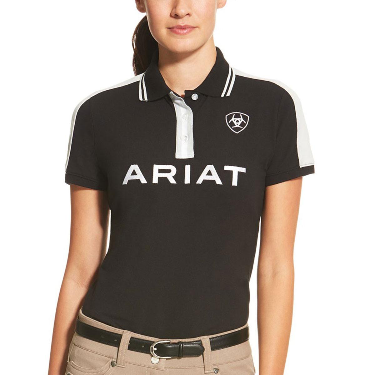 Ariat New Team Ladies Polo Shirt - Black