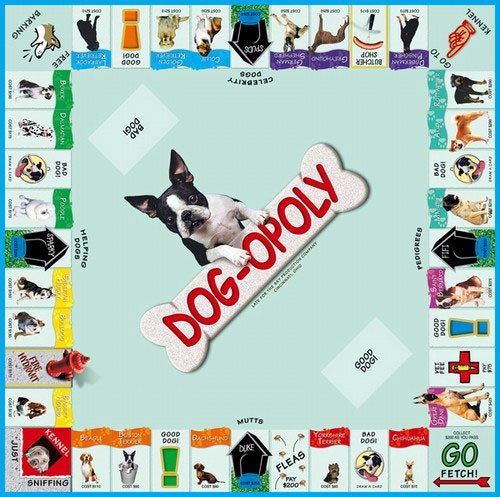 Dog Opoly Board Game Redpost Equestrian
