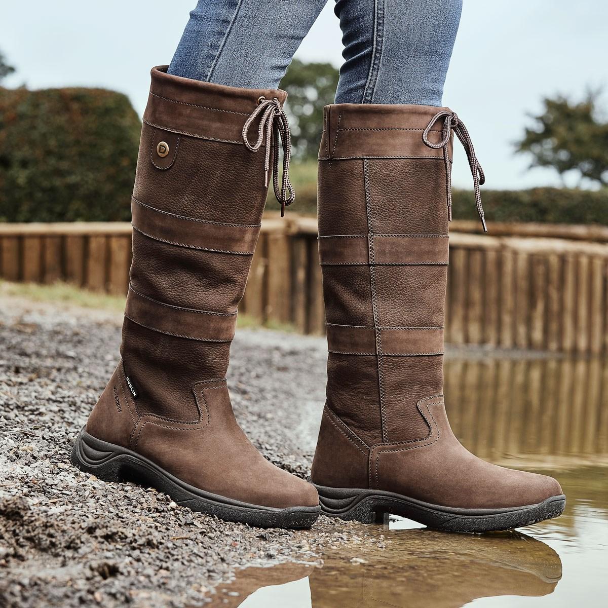 1b7f9db1f8 Dublin River III Country Boots - Chocolate