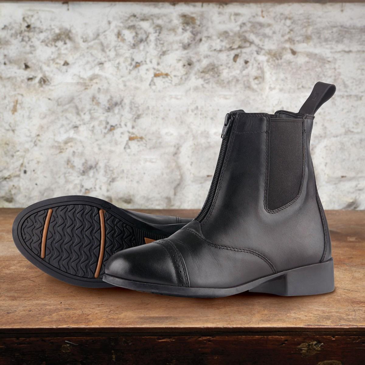 5b15d493fe46 Dublin Elevation II Zip Jodhpur Boots - Black - Redpost Equestrian