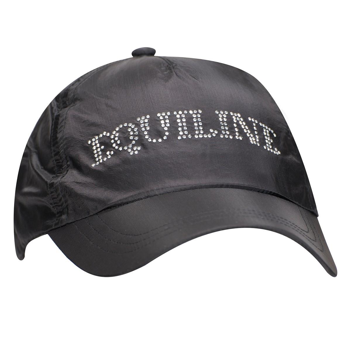 7c722b1644 Equiline Illusion Ladies Cap - Black - Redpost Equestrian