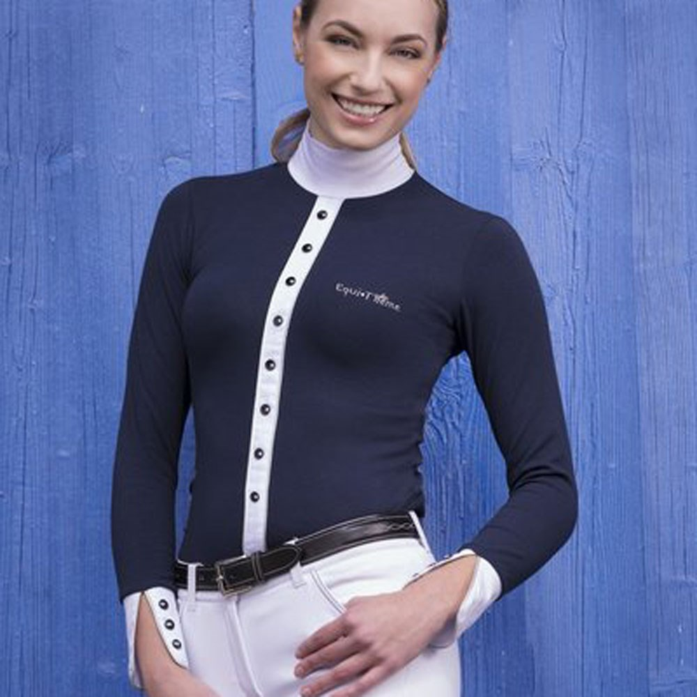 f78f464406 ... Competitors Compete With Old Navy: Equi-Theme Silver Ladies Competition  Shirt
