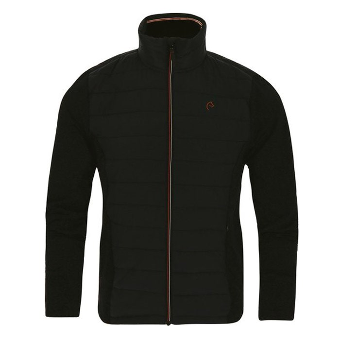 d09528c6cb2 Equi-Theme Lightweight Padded Mens Jacket - Black - Redpost Equestrian