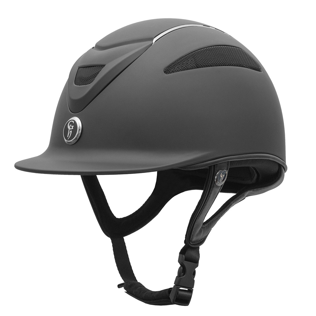 Gatehouse Conquest Mkii Riding Hat Matt Black