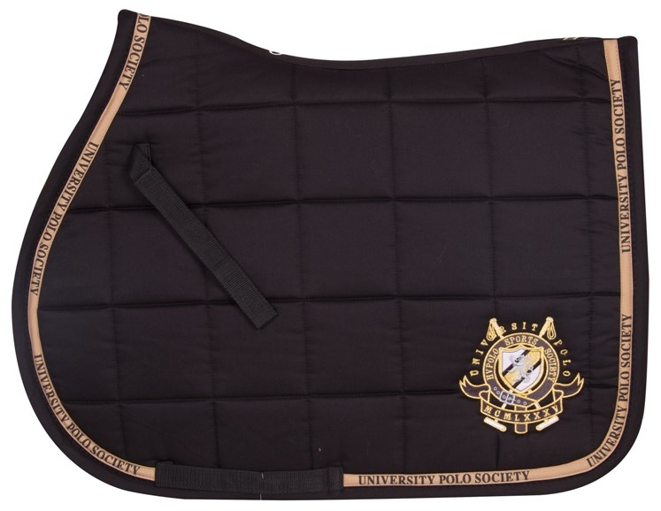 93af796b0a23 HV Polo Brown Saddle Pad - Black - Full Size - Redpost Equestrian