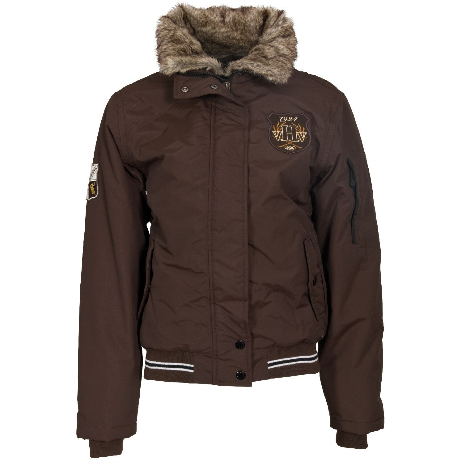 Brown Waterproof Jacket - JacketIn