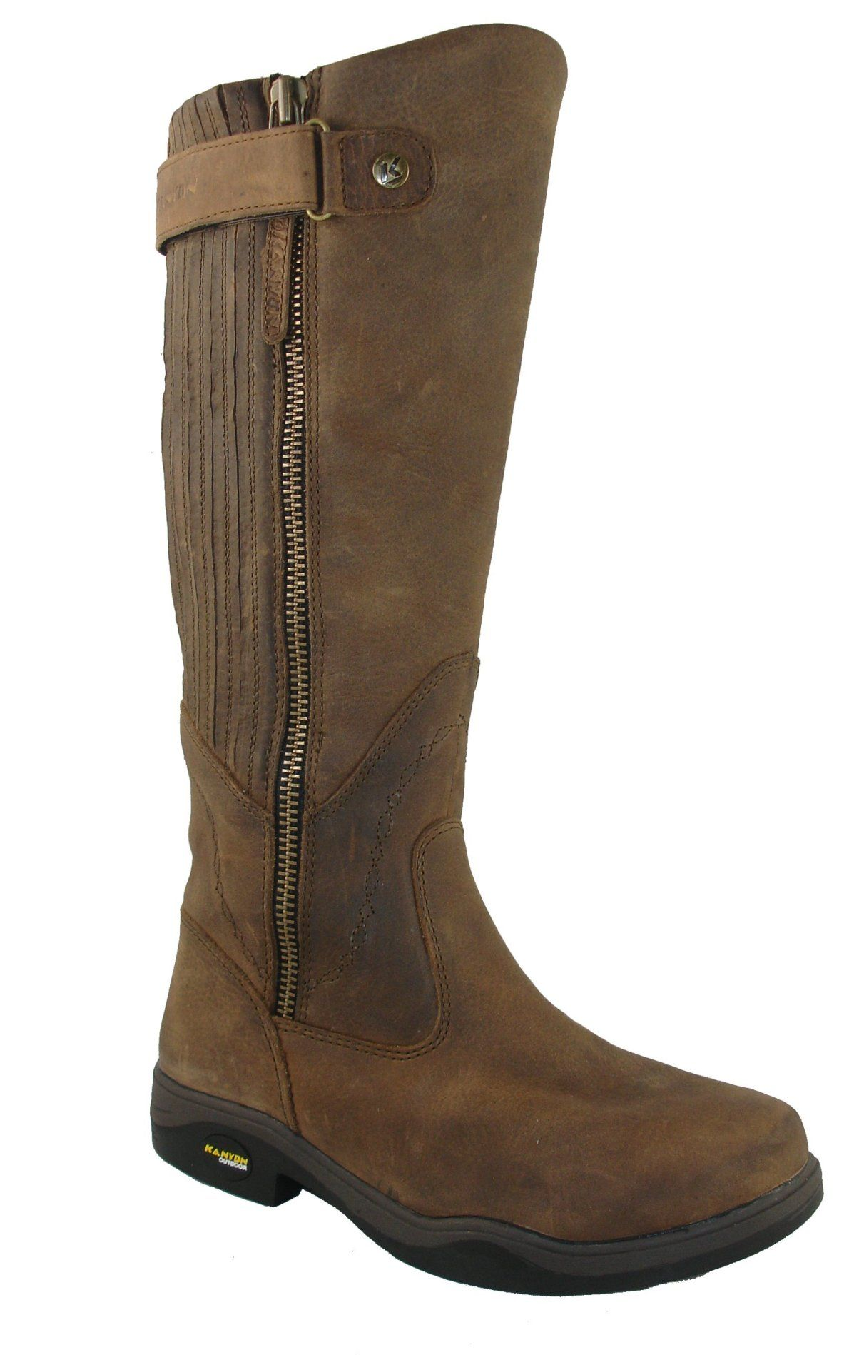 kanyon gorse x rider waterproof boot brown
