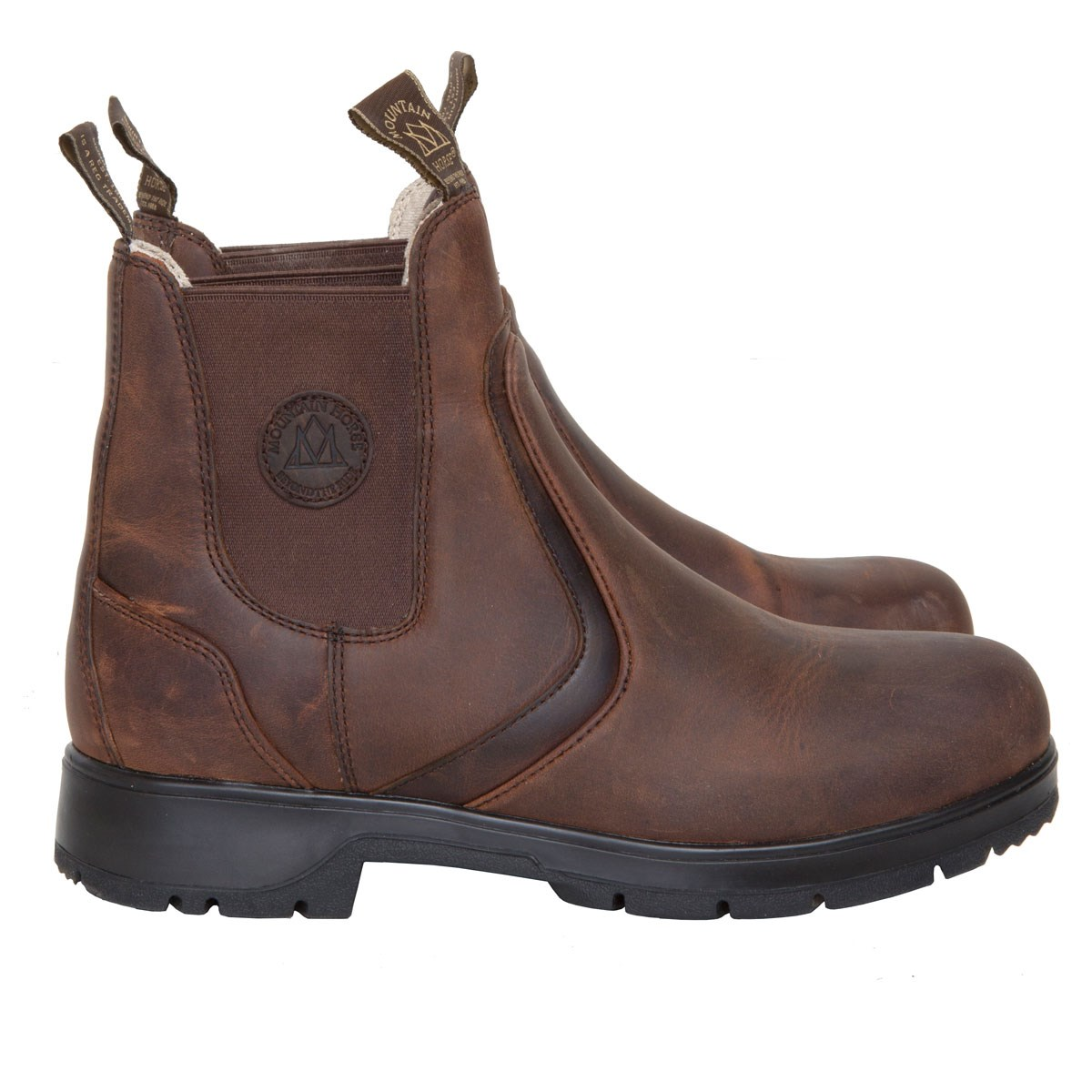 9556f0f7d56e Mountain Horse Spring River Ladies Jodhpur Boots - Brown - Redpost  Equestrian