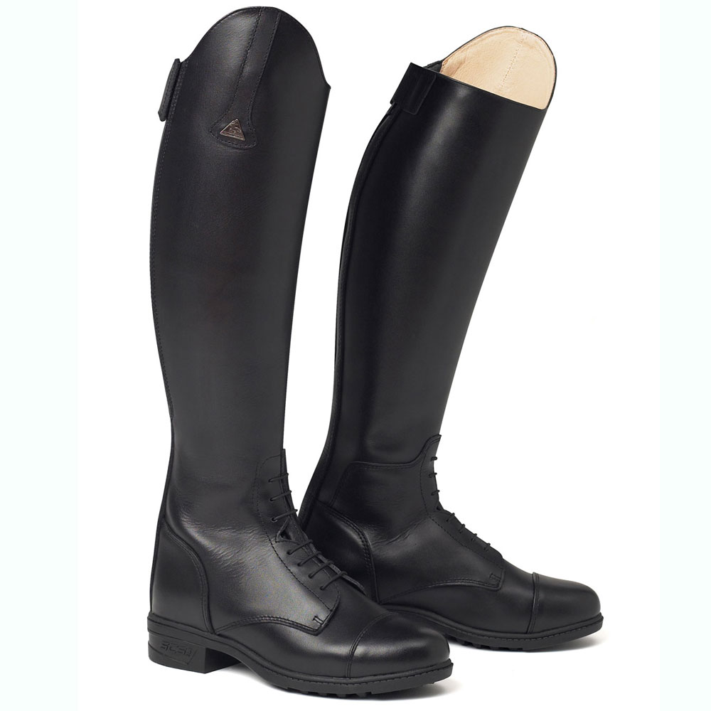 Excellent Good Closet HORSE RIDING BOOTS TALL BLACK WOMENS 8 BOOTS
