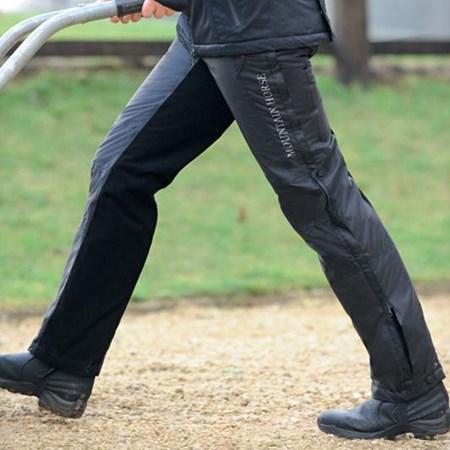 Mountain Horse Rider Pants Waterproof Trousers Black