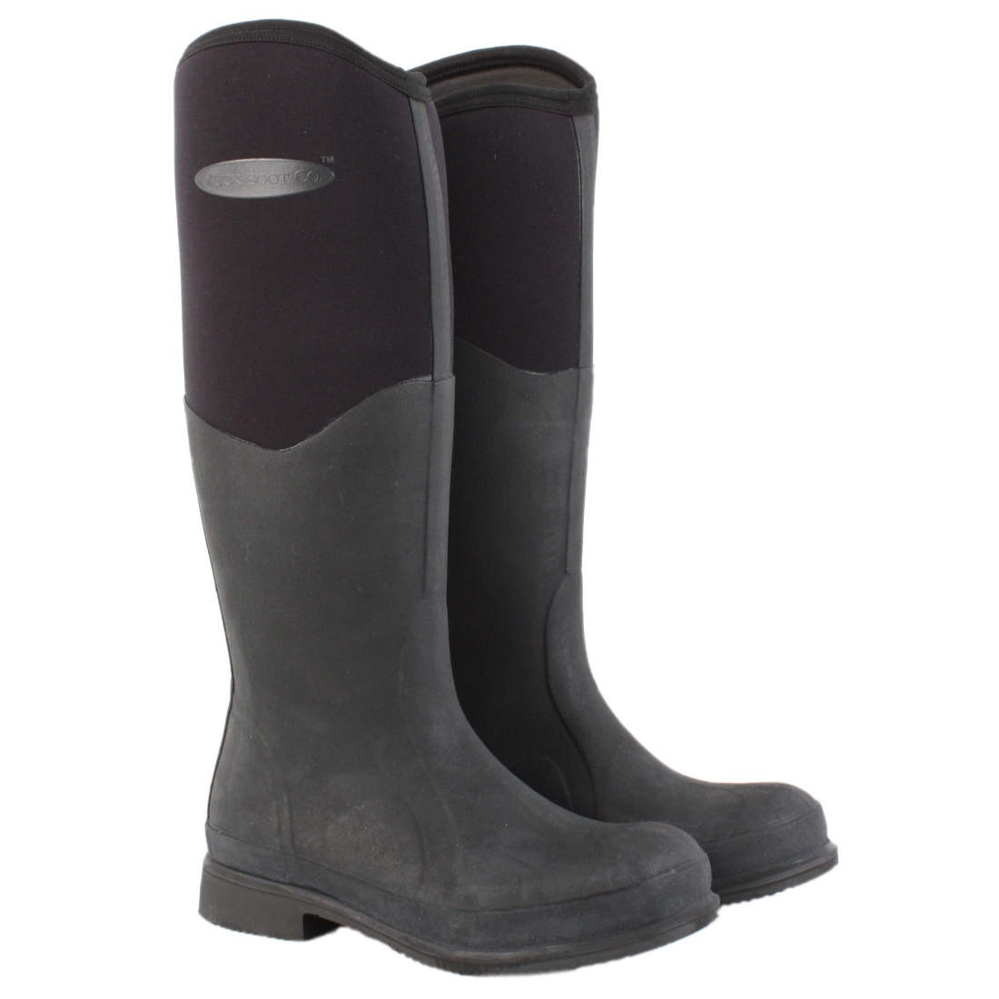 Muck Boot Tyne Riding Wellington Boots - Black - Redpost Equestrian