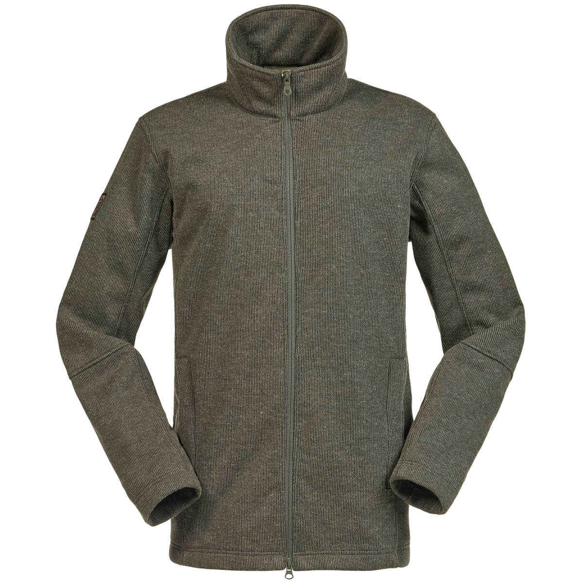 c082b132a0c687 Musto Tech Wool Mens Fleece Jacket - Forest Green - Redpost Equestrian